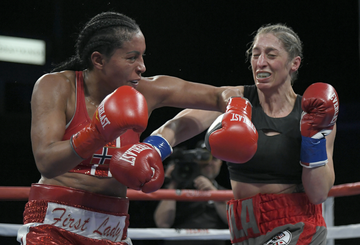 Cecilia Braekhus is the 'First Lady of Boxing' delivering epic jabs and punches