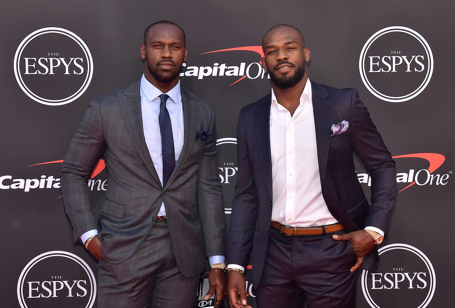 Jon Jones and Chandler Jones