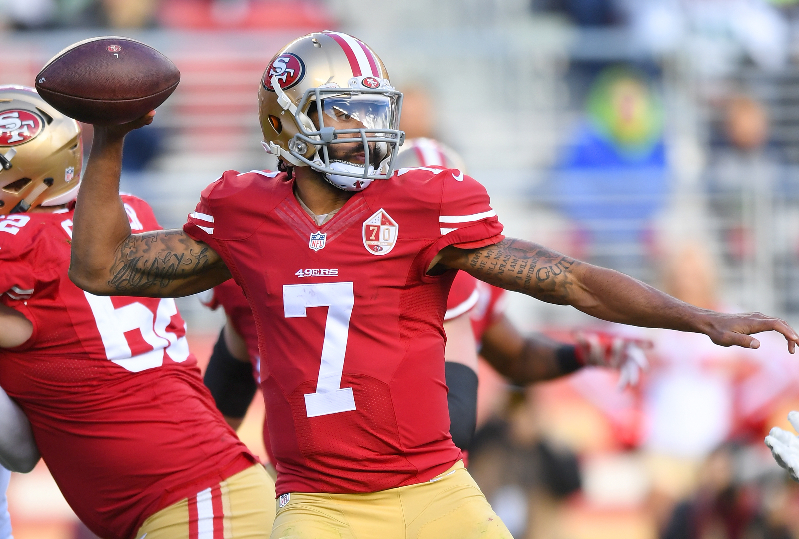 Colin Kaepernick has not played in the NFL since the 2016 season with the 49ers. However, he just received a nomination for the Hall of Fame.