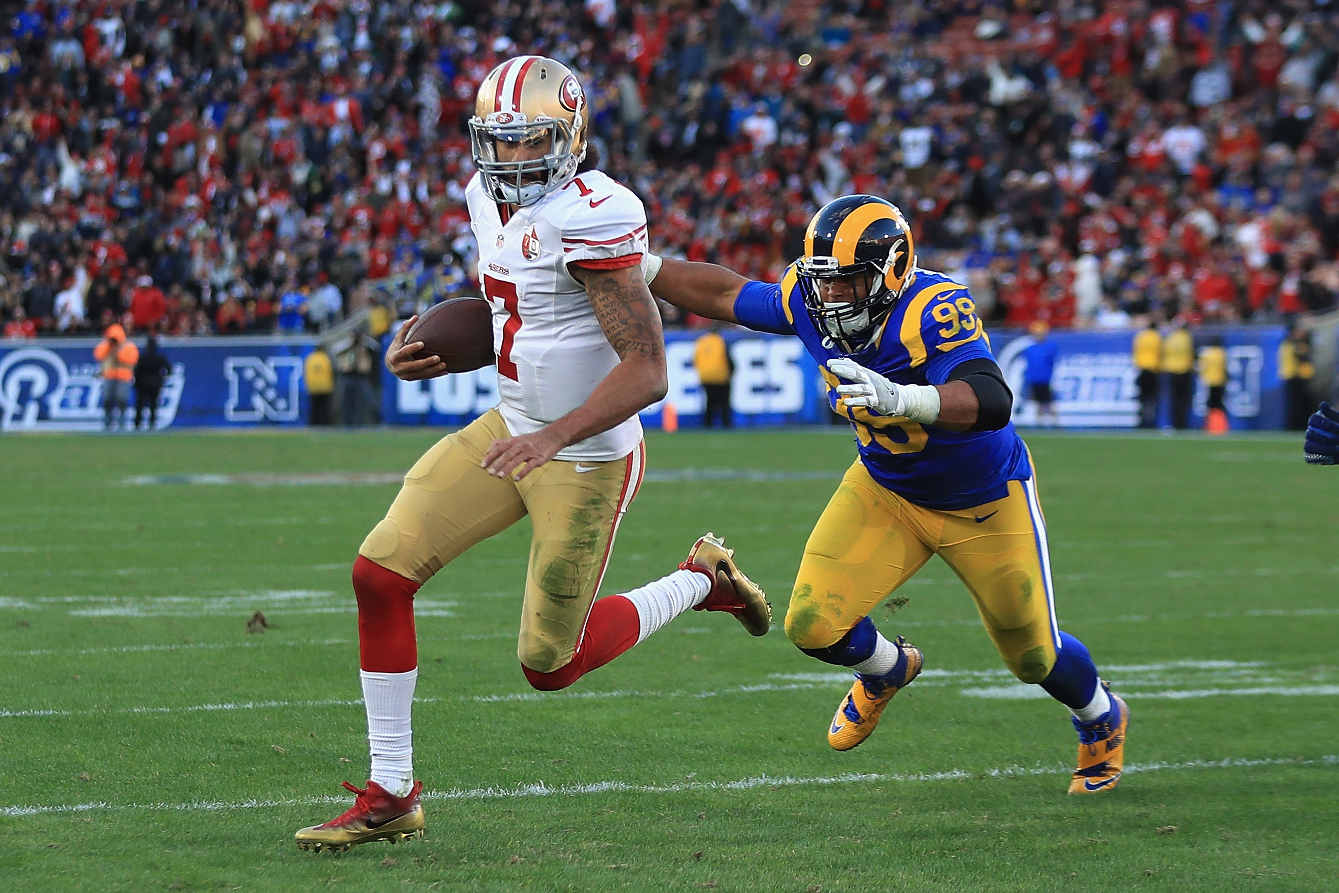 Colin Kaepernick won't be in the Denver Broncos' plans says one former player.