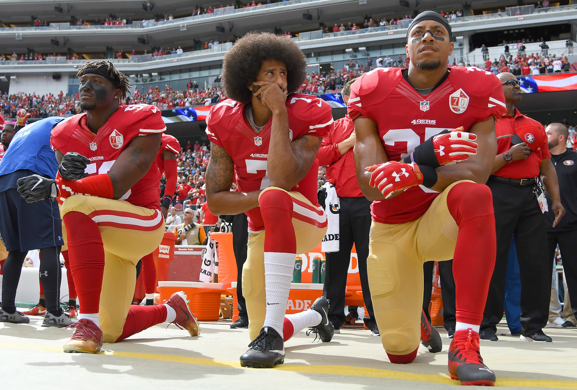 Colin Kaepernick called the NFL's social justice initiatives 'propaganda' in a tweet.