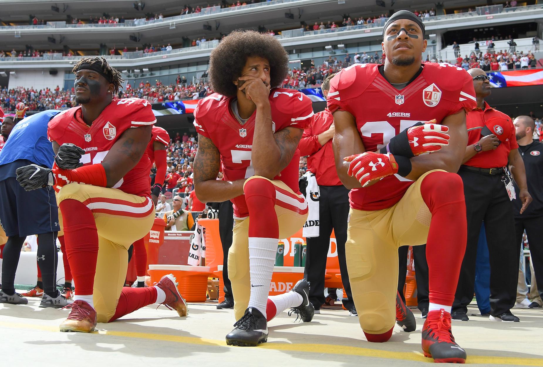 Colin Kaepernick called the NFL's social justice initiatives 'propaganda' in a tweet.