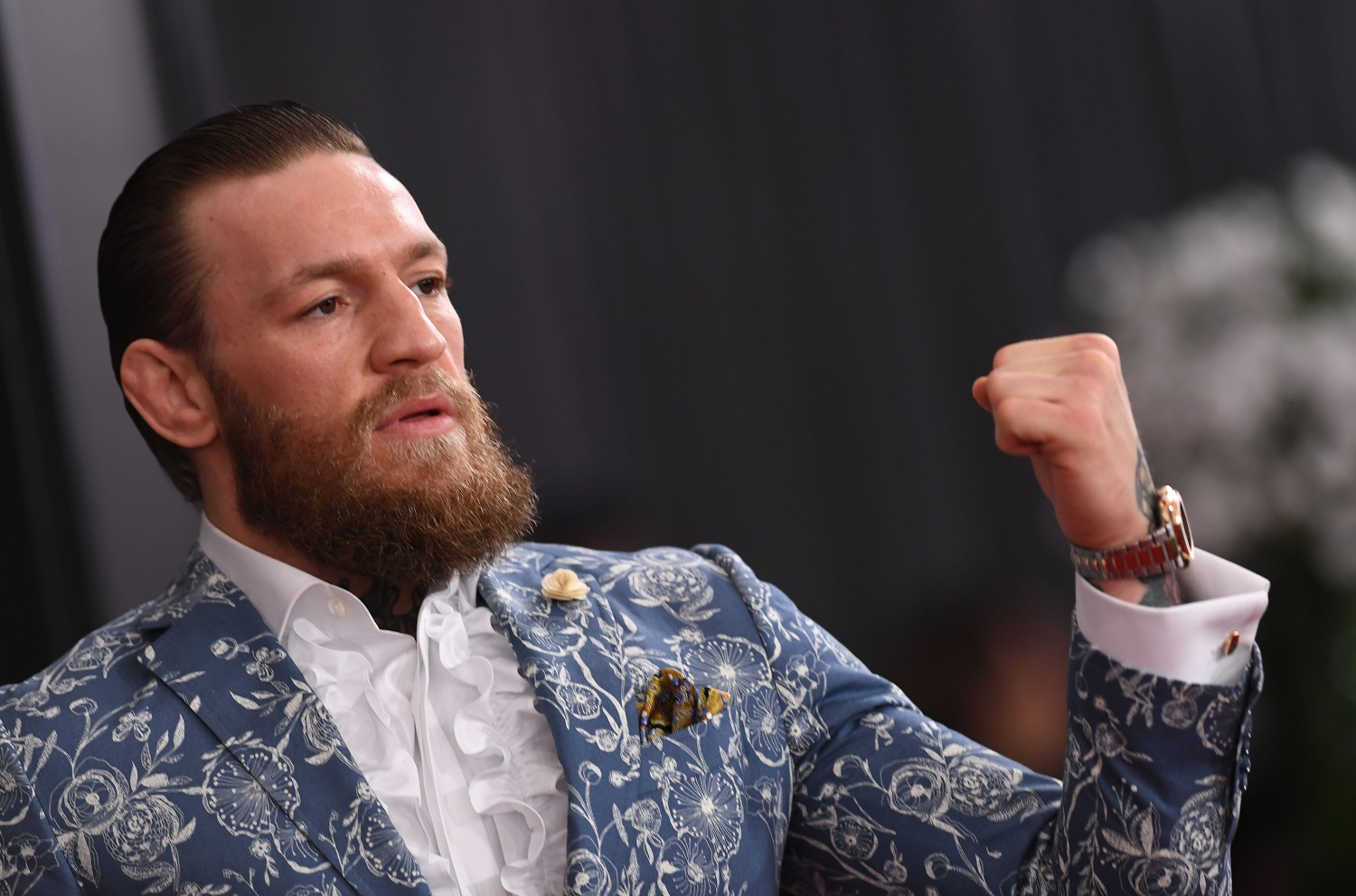 'Retired' Conor McGregor Accepts a Challenge From Diego Sanchez But Then Says He's Boxing Manny Pacquiao