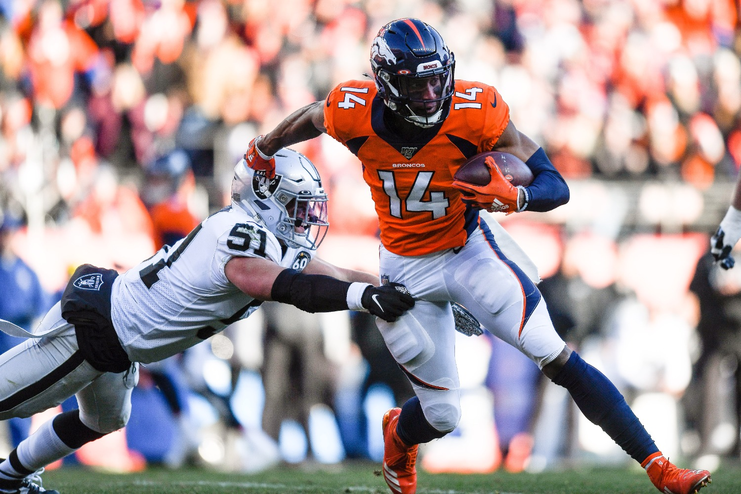 The Denver Broncos just lost Courtland Sutton for the rest of the season, which represents a brutal blow for a team with exciting potential on offense.