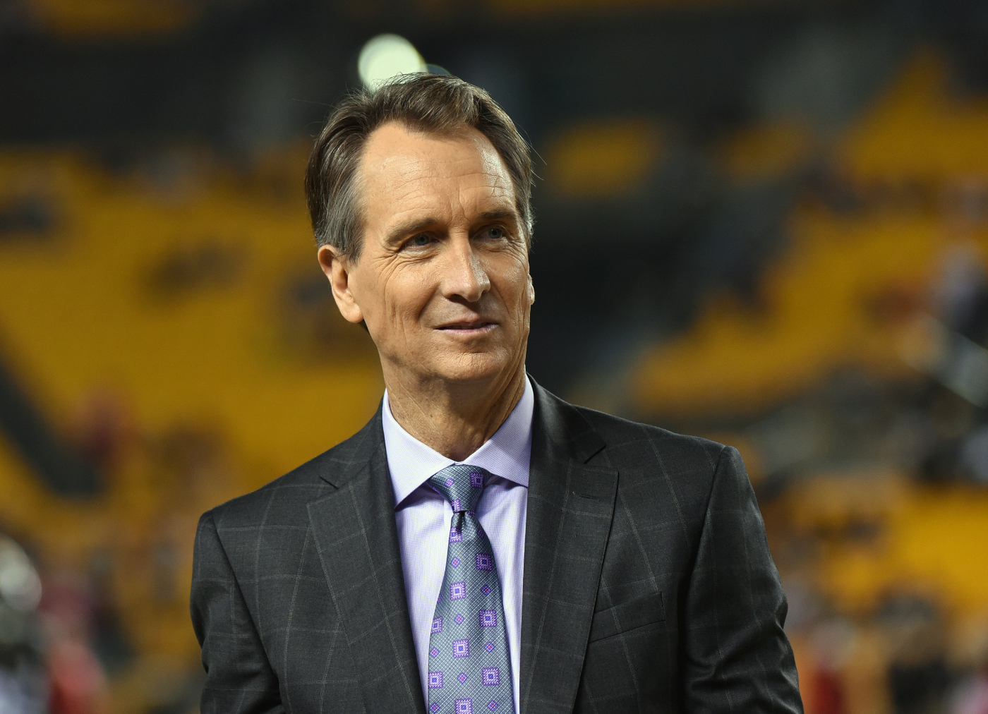After a nice career with the Bengals, Cris Collinsworth has had a pretty successful career as a broadcaster. His son is now also successful.