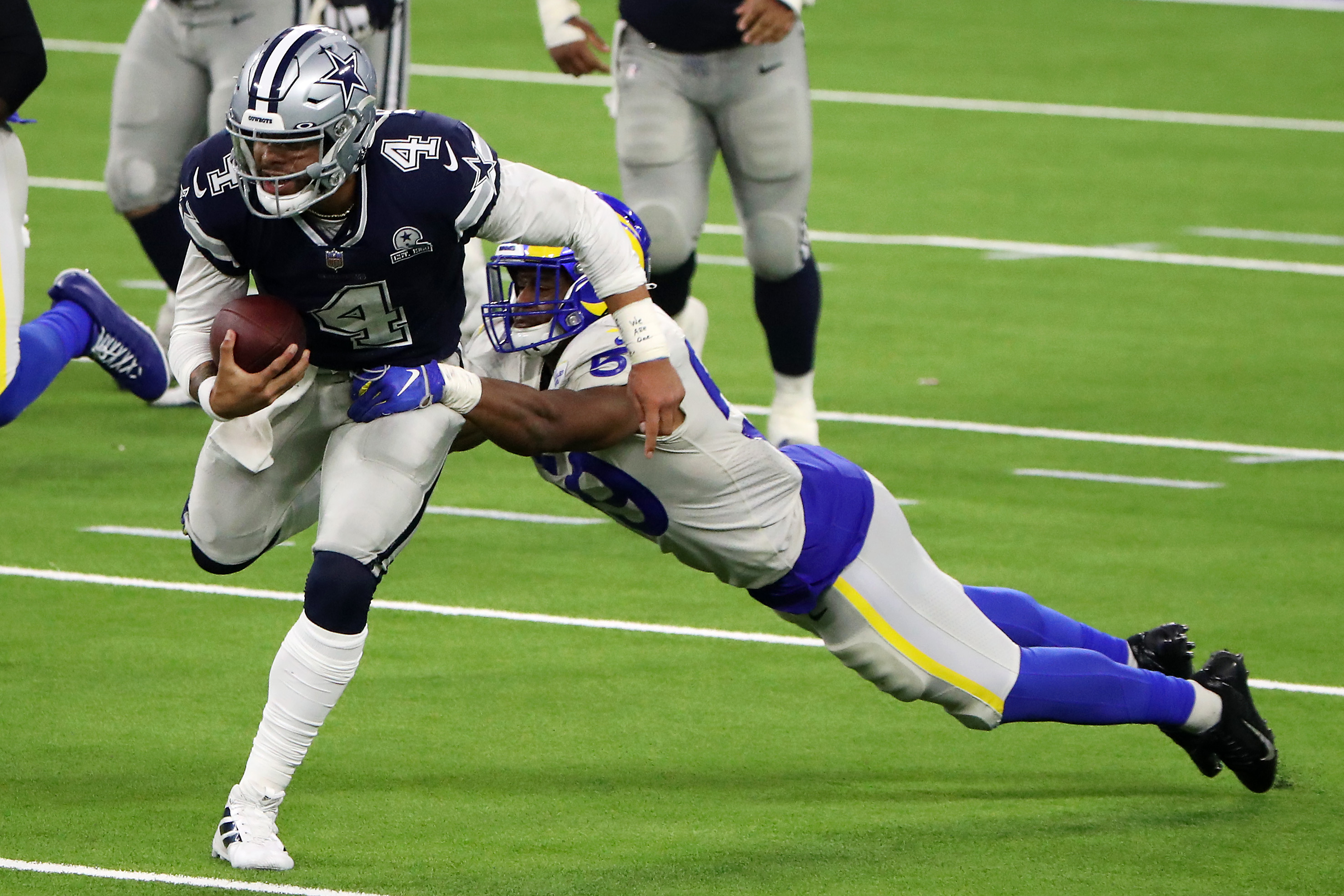 Dak Prescott explains what it means to play for the Dallas Cowboys.