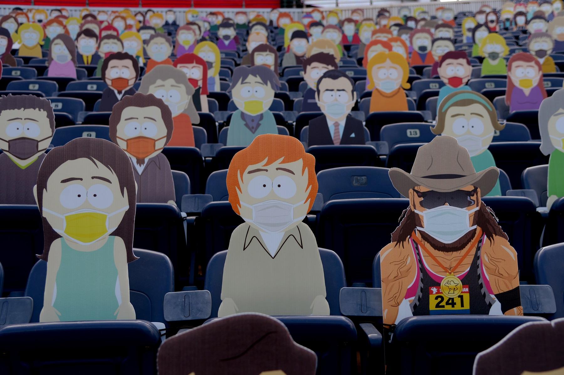 Denver Broncos South Park promotion