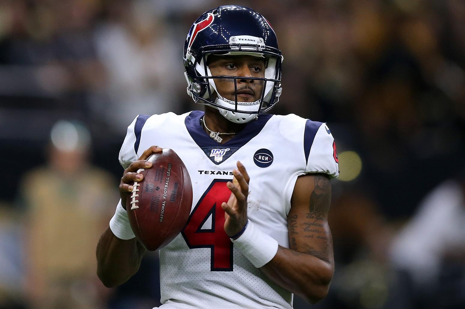 Deshaun Watson Texans contract NFL