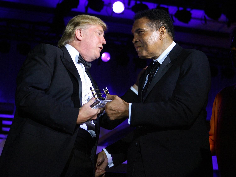 Muhammad Ali Donald Trump