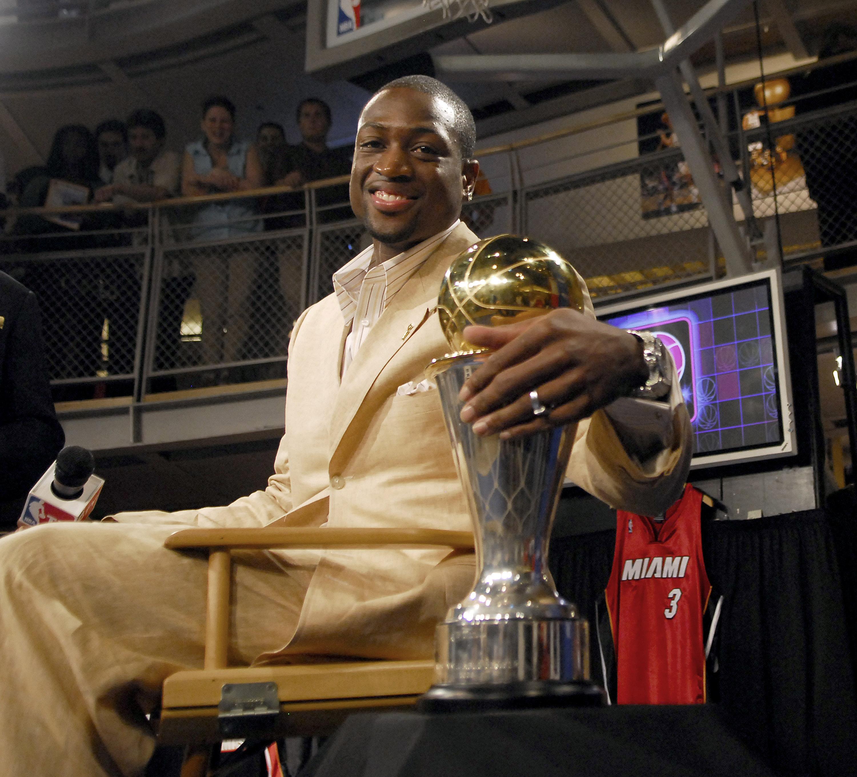 NBA player Dwyane Wade