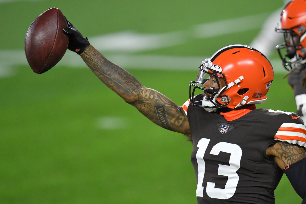 The Los Angeles Rams should trade for Cleveland Browns receiver Odell Beckham Jr.