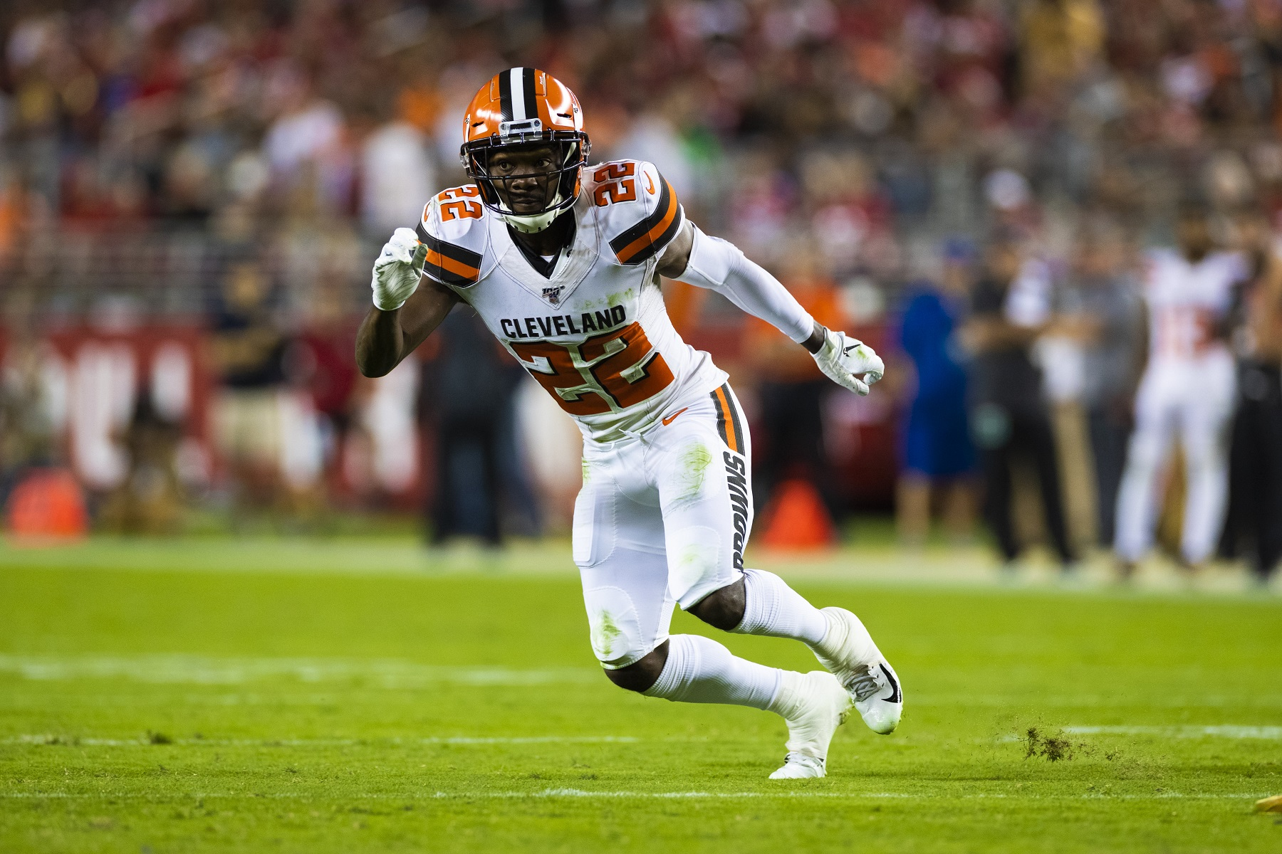 Eric Murray's 2019 season with the Cleveland Browns ended with a knee injury. | Ric Tapia/Icon Sportswire via Getty Images