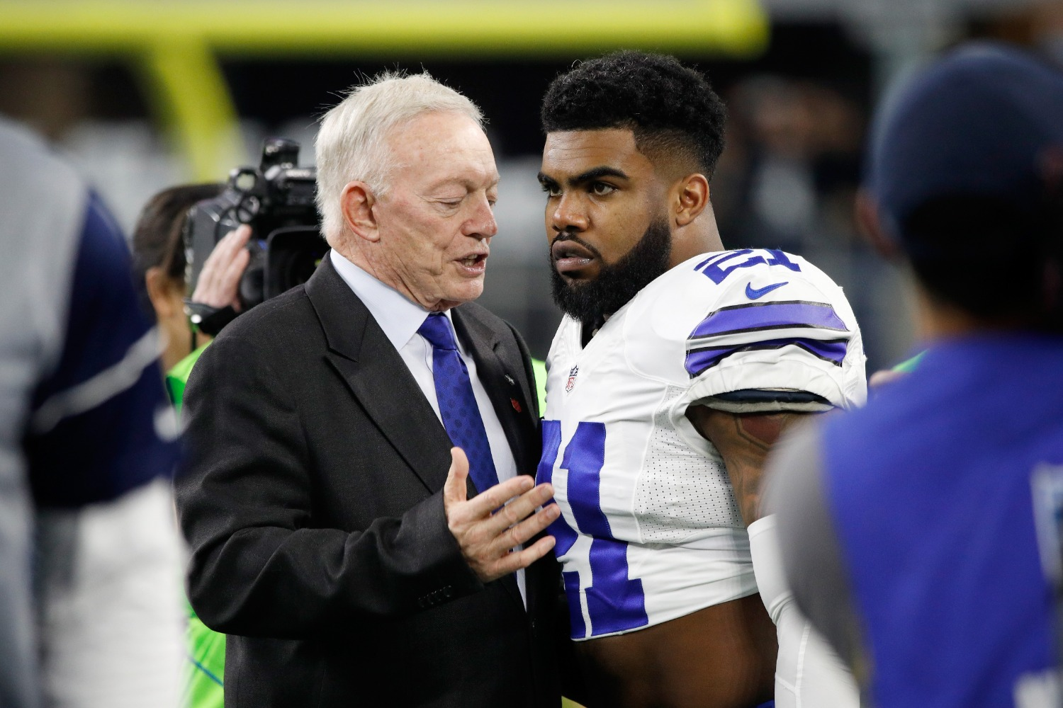 Cowboys owner Jerry Jones revealed a new role for Ezekiel Elliott that could propel Dallas to its first Super Bowl title since 1996.