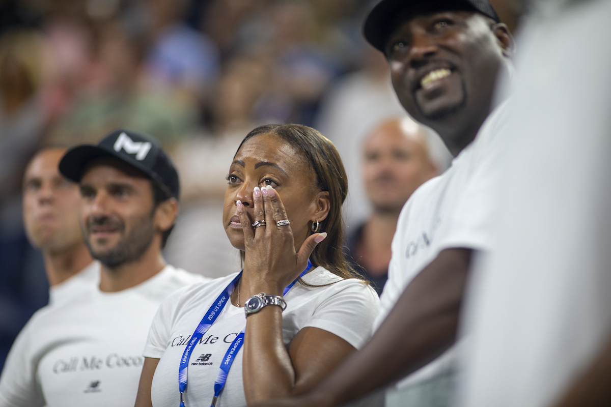 Corey and Candi Gauff, Coco Gauff's parents