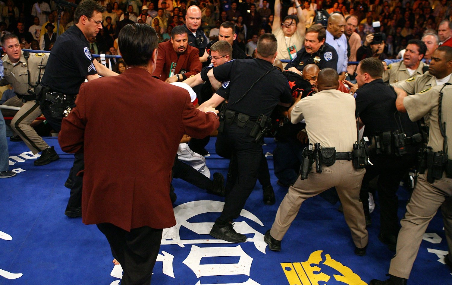 The Crazy Floyd Mayweather Fight That Included a Riot, Revoked Fighting Licenses, and Huge Fines