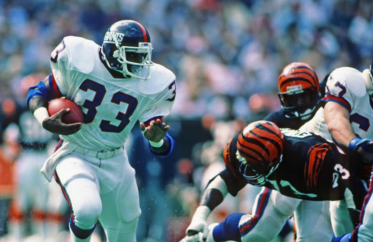 Former New York Giants running back George Adams' son, Jamal, is a star safety for the Seattle Seahawks.
