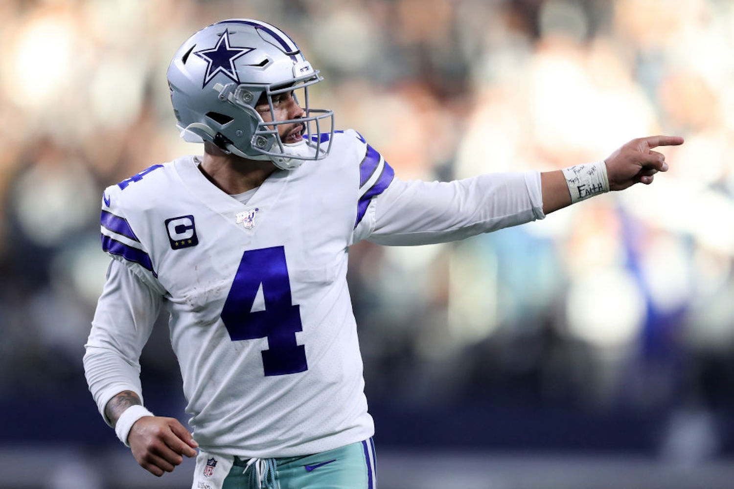 Dak Prescott might have the most dangerous group of offensive weapons in the NFL, and he has high praise for the Cowboys' newest addition.