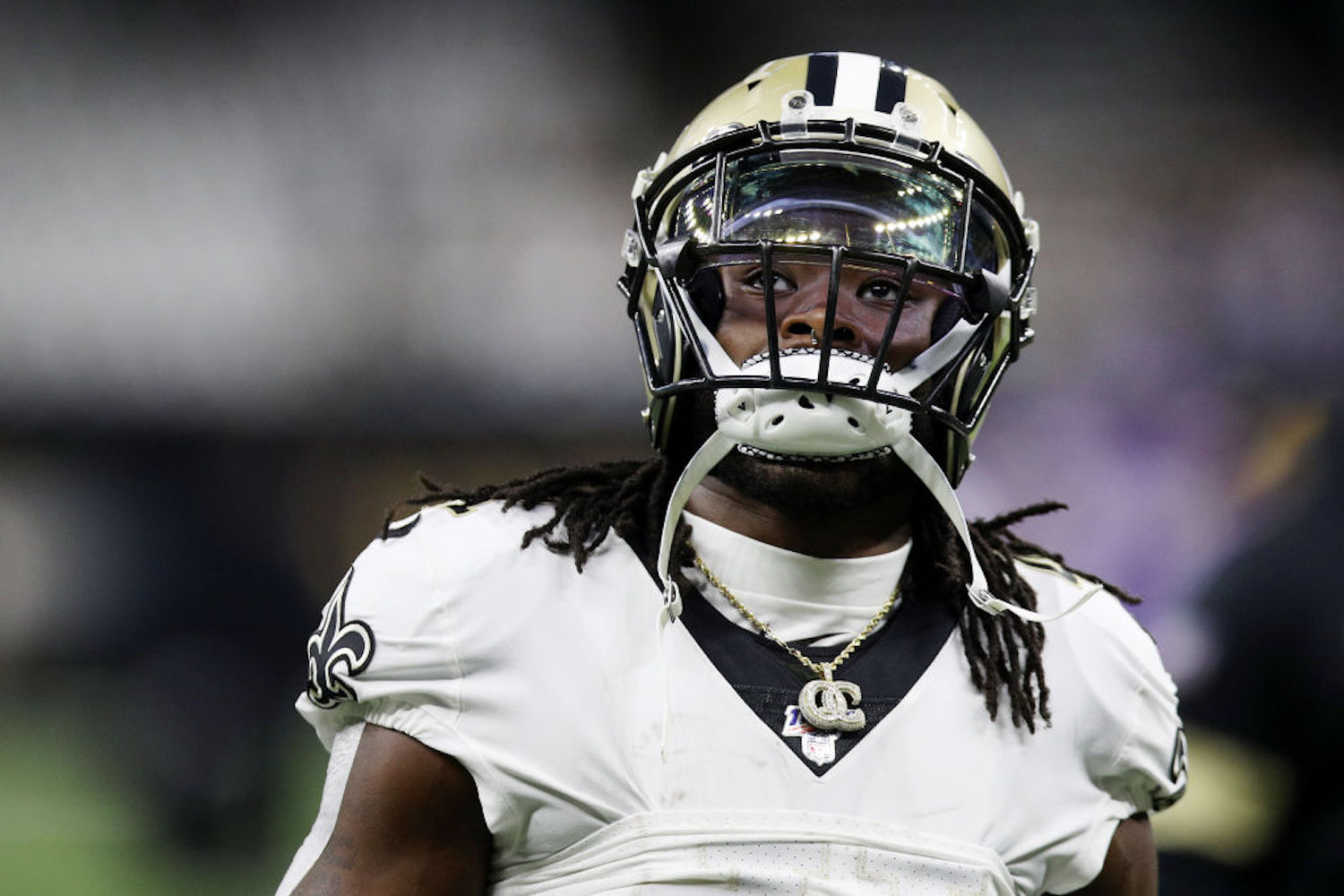 Alvin Kamara's scared Saints fans and fantasy owners with a mini contract holdout recently, but he just made them breathe a sigh of relief.