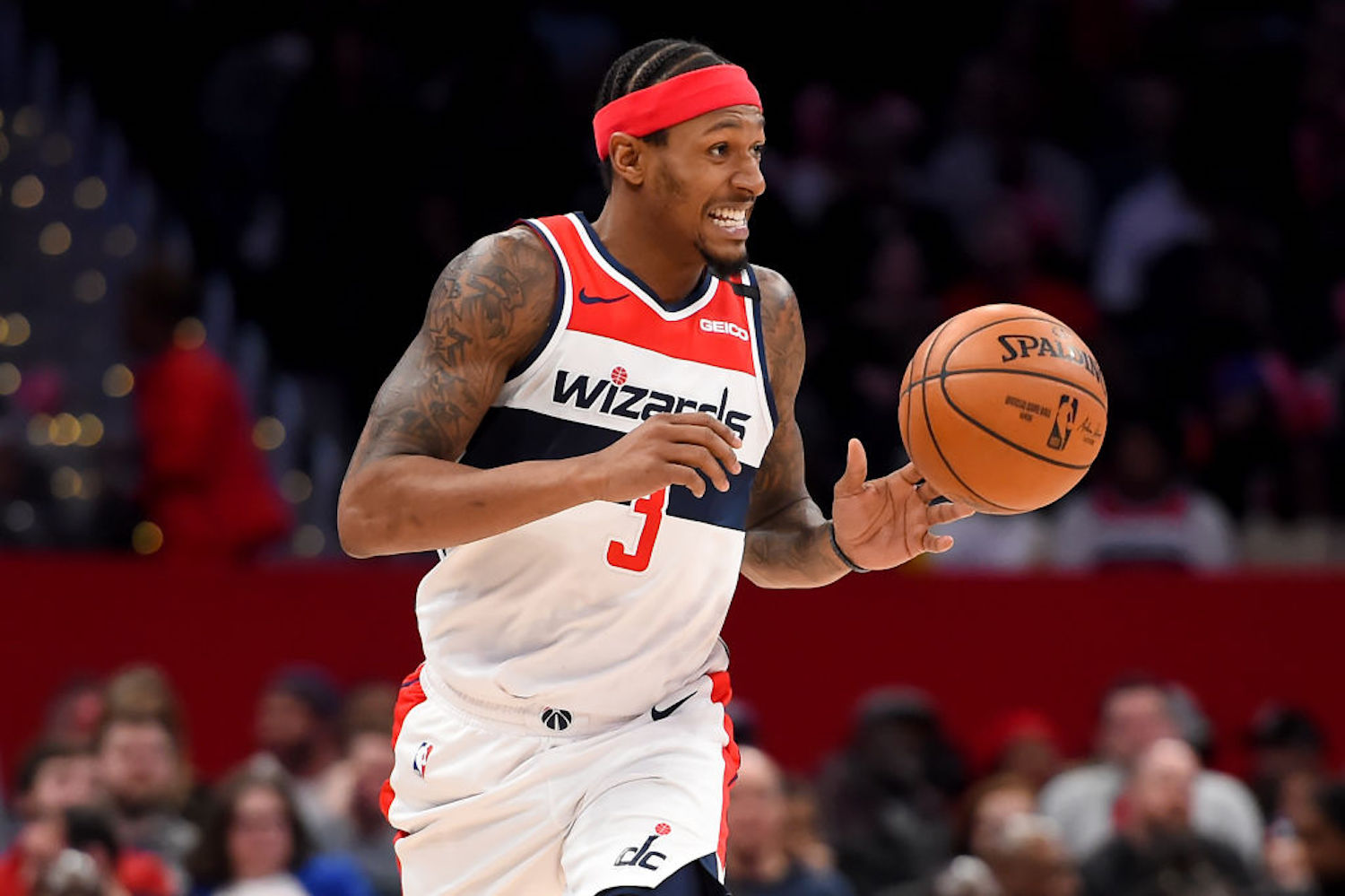 Bradley Beal has been looking to get out of Washington for a while now, and his newest purchase might've given away his preferred destination.