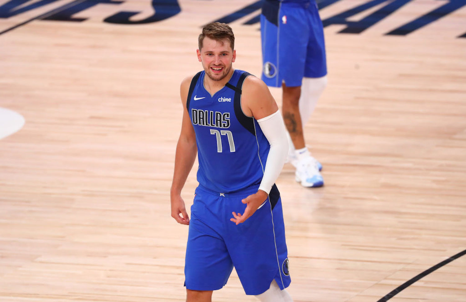 Luka Doncic was just named to the All-NBA First Team for the 2019-20 season, and he passed LeBron James in the process.