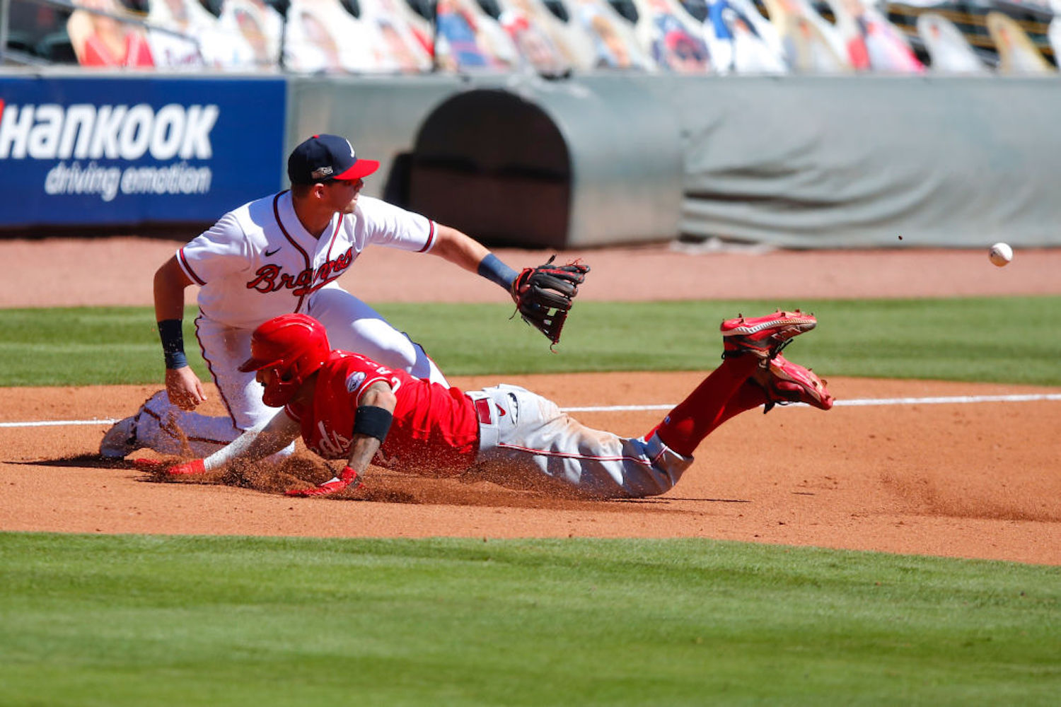 The Atlanta Braves and Cincinnati Reds just made MLB history with their extra-inning playoff game on Wednesday afternoon.
