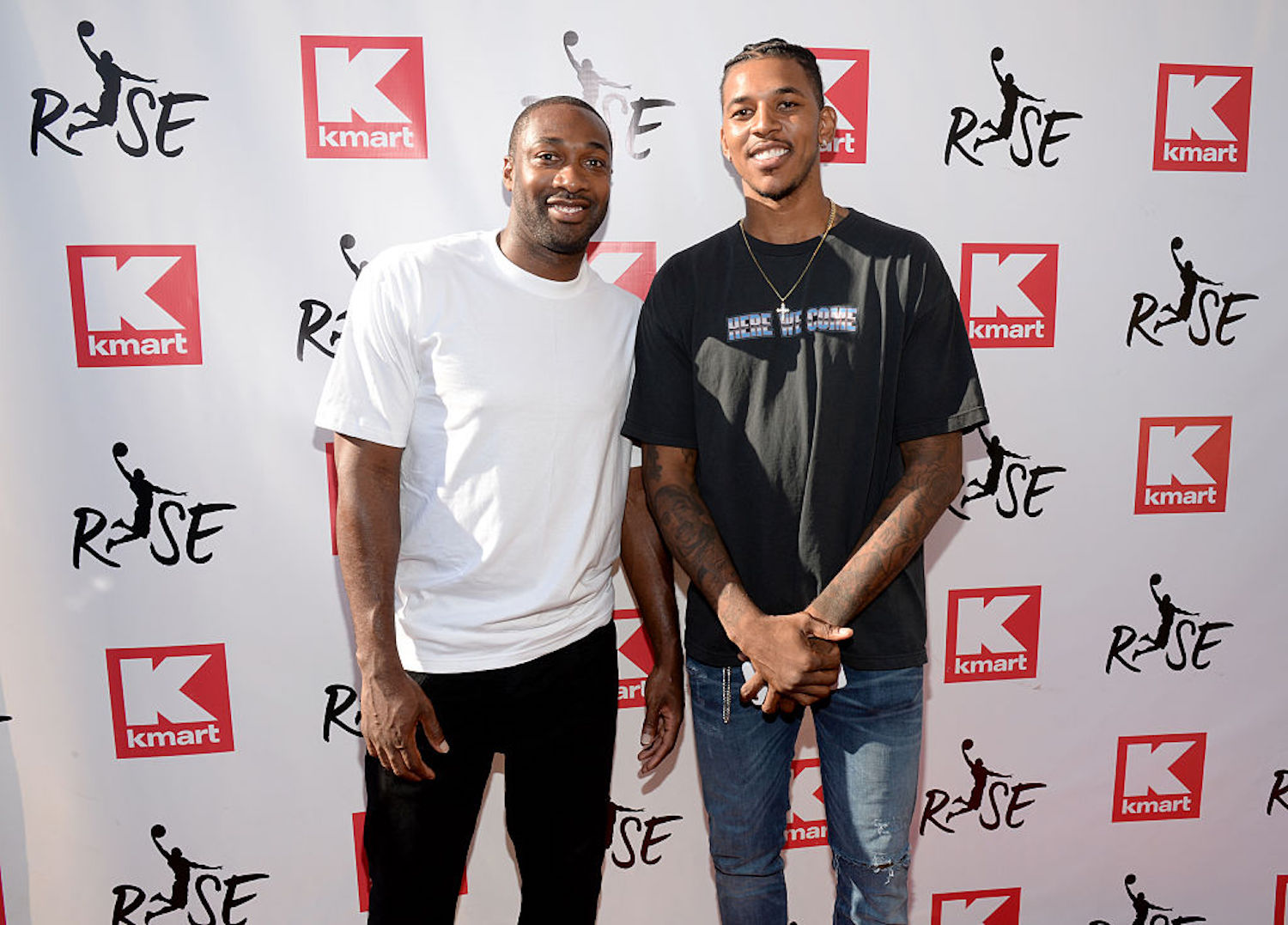 Gilbert Arenas was never afraid of a challenge, so even after he retired he dusted Nick Young in a $100,000 shooting contest.