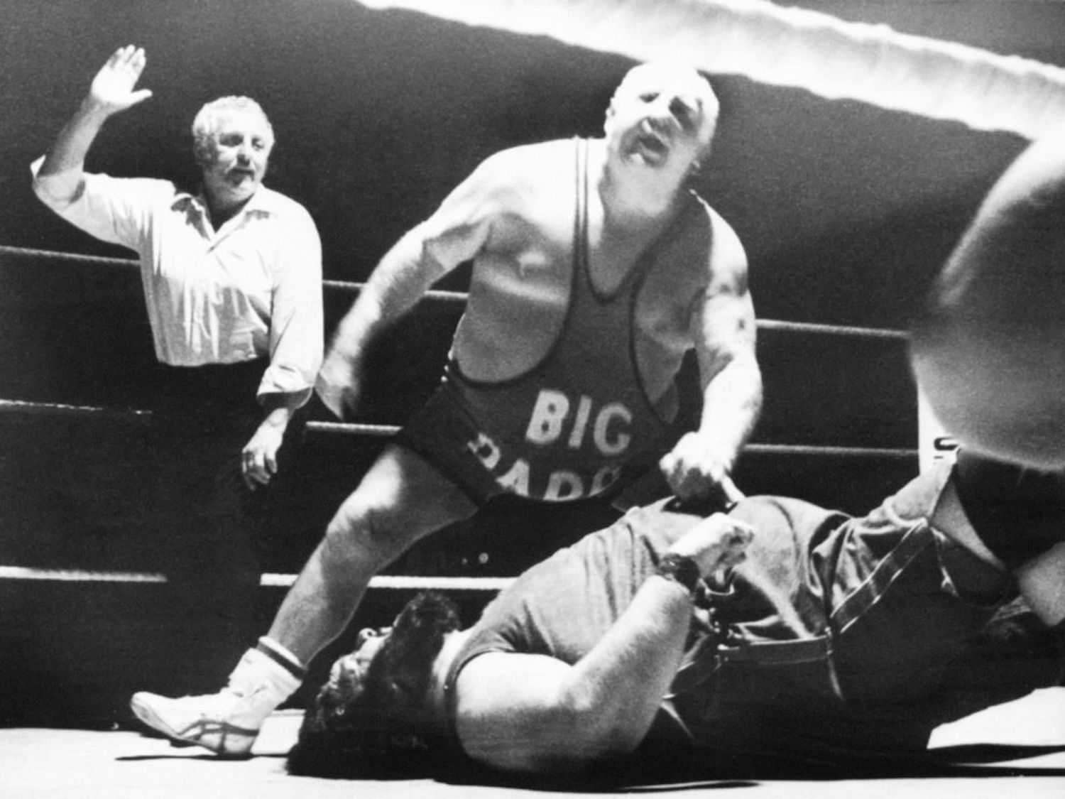 "A normal tag team between Malcolm ""King Kong"" Kirk and Shirley ""Big Daddy"" Crabtree turned tragic in August 1987."
