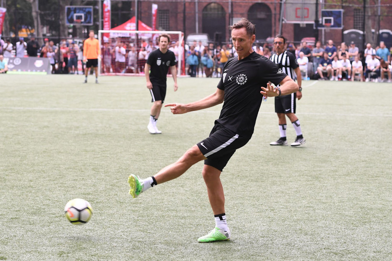 Steve Nash was a talented soccer player growing up, and he almost bailed on basketball to pursue a professional career on the pitch.