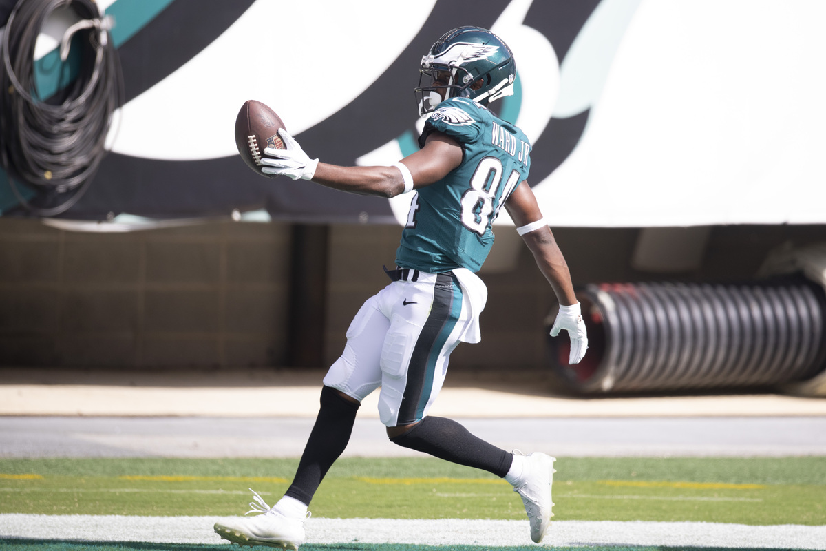 Philadelphia Eagles receiver Greg Ward, a former college quarterback, is impressing in the NFL.