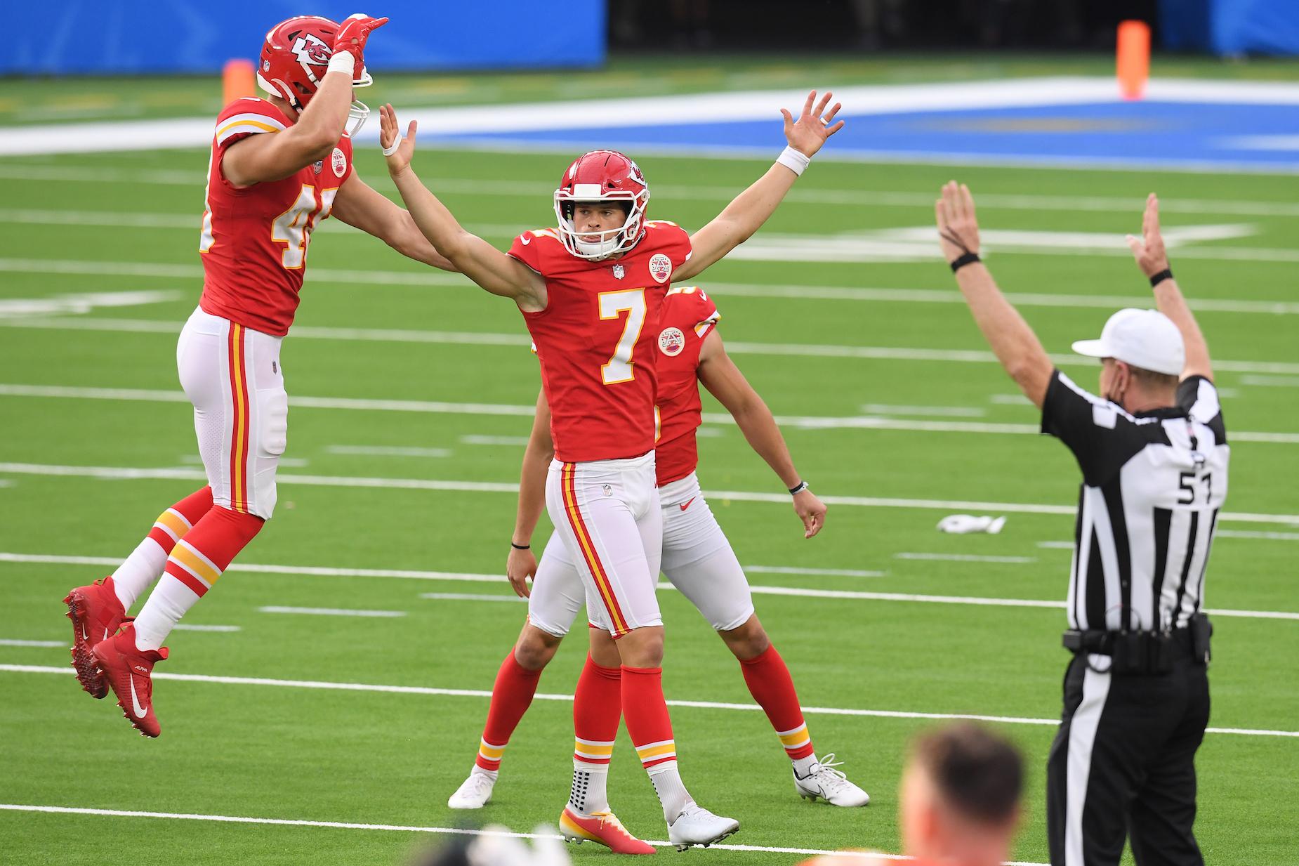 Kicker Harrison Butker can make the Kansas City Chiefs even more dangerous.