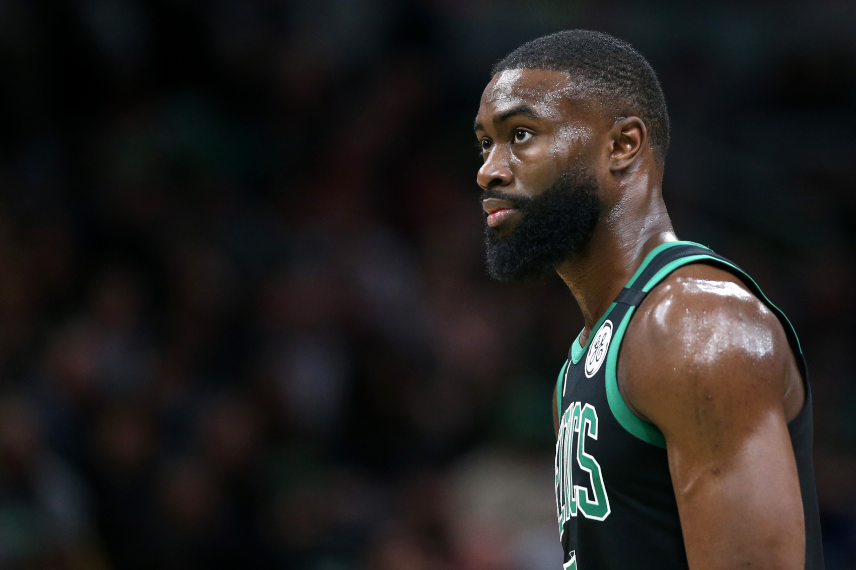 The Boston Celtics lost to the Raptors at the buzzer in Game 3 of the Eastern Conference Semifinals. After the game, Jaylen Brown was pissed.