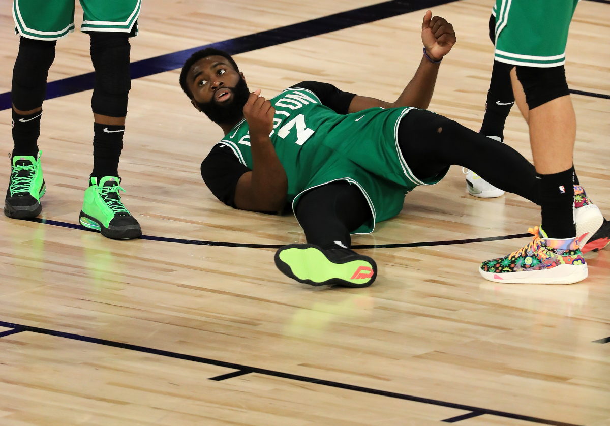 Jaylen Brown rips Nick Nurse after Game 6.