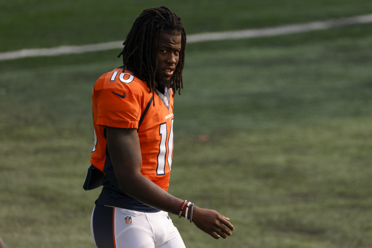 It may be time to buy high on Denver Broncos rookie receiver Jerry Jeudy. His teammate, Coutland Sutton, offered major praise ahead of Week 1.