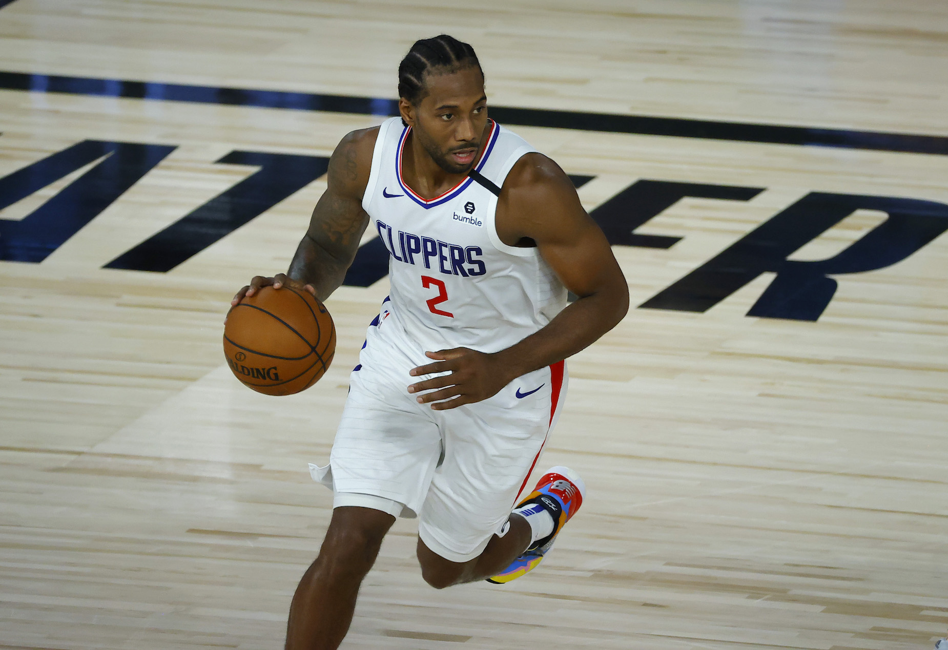 "LA Clippers star Kawhi Leonard may say that he's a ""fun guy,"" but his trash talk sounds pretty boring."