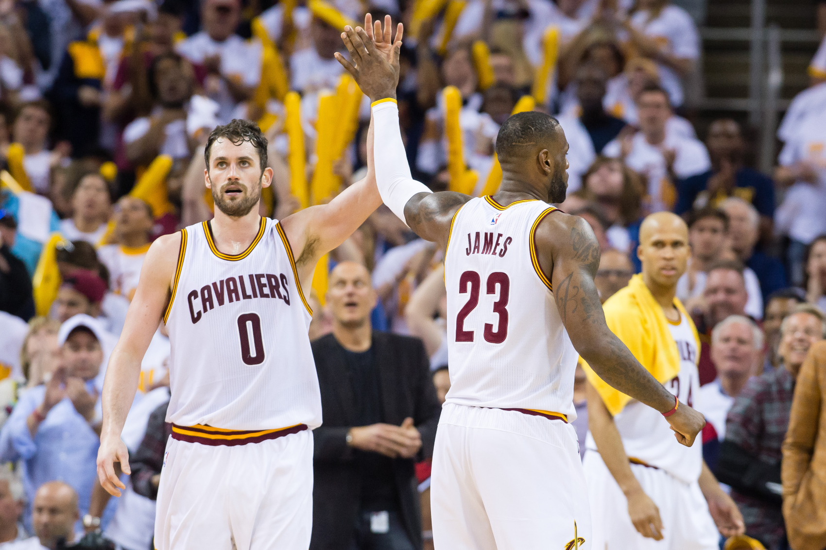 Kevin Love and LeBron James had a lot of success on the Cavaliers. However, it wasn't always easy as a LeBron James tweet once bothered Love.