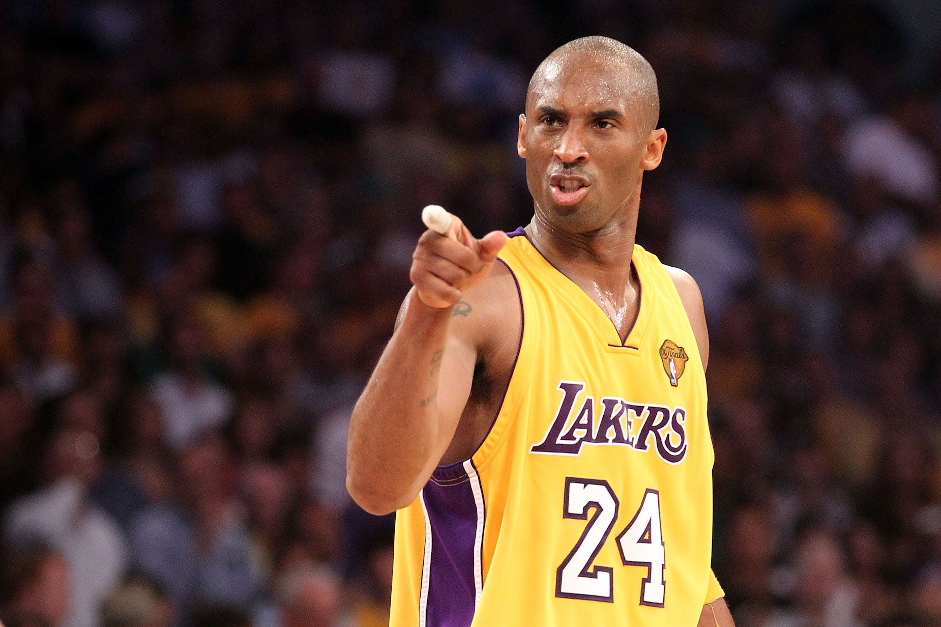 During his childhood in Italy, Kobe Bryant was the least popular player on his basketball team.