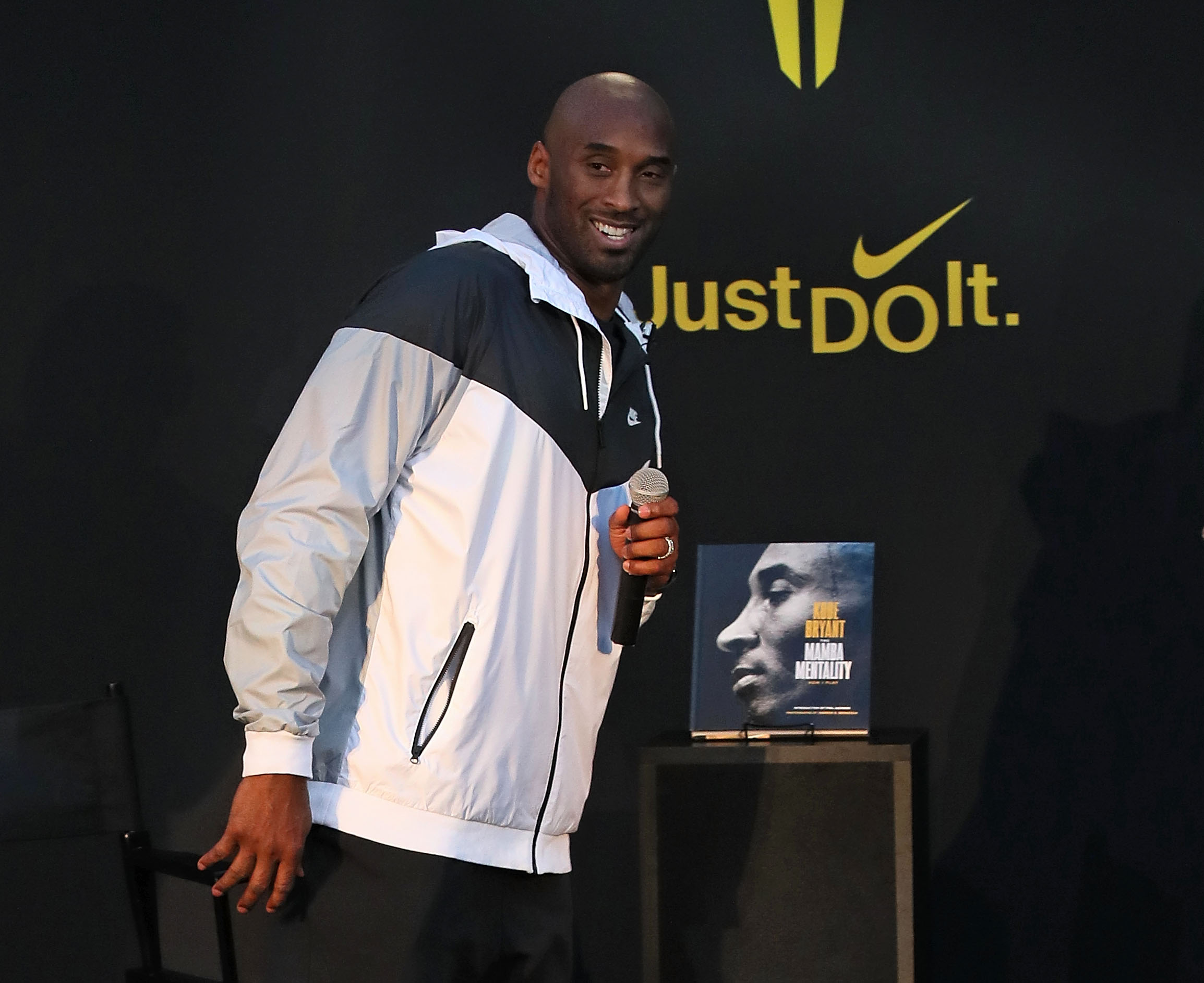 Author Kobe Bryant