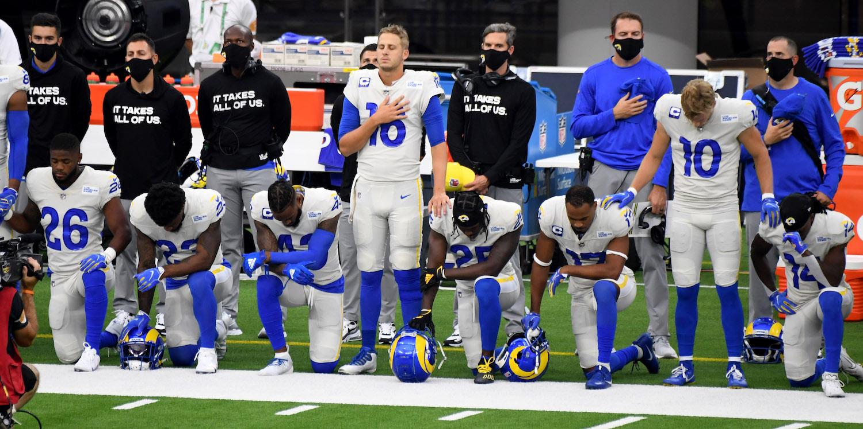 NFL boycott after players kneel