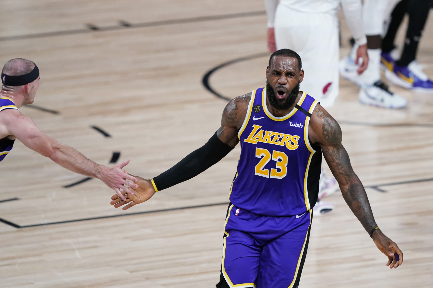 LeBron James and the LA Lakers are in the NBA Finals. Lakers owner Jeanie Buss just revealed how much longer she hopes James plays.