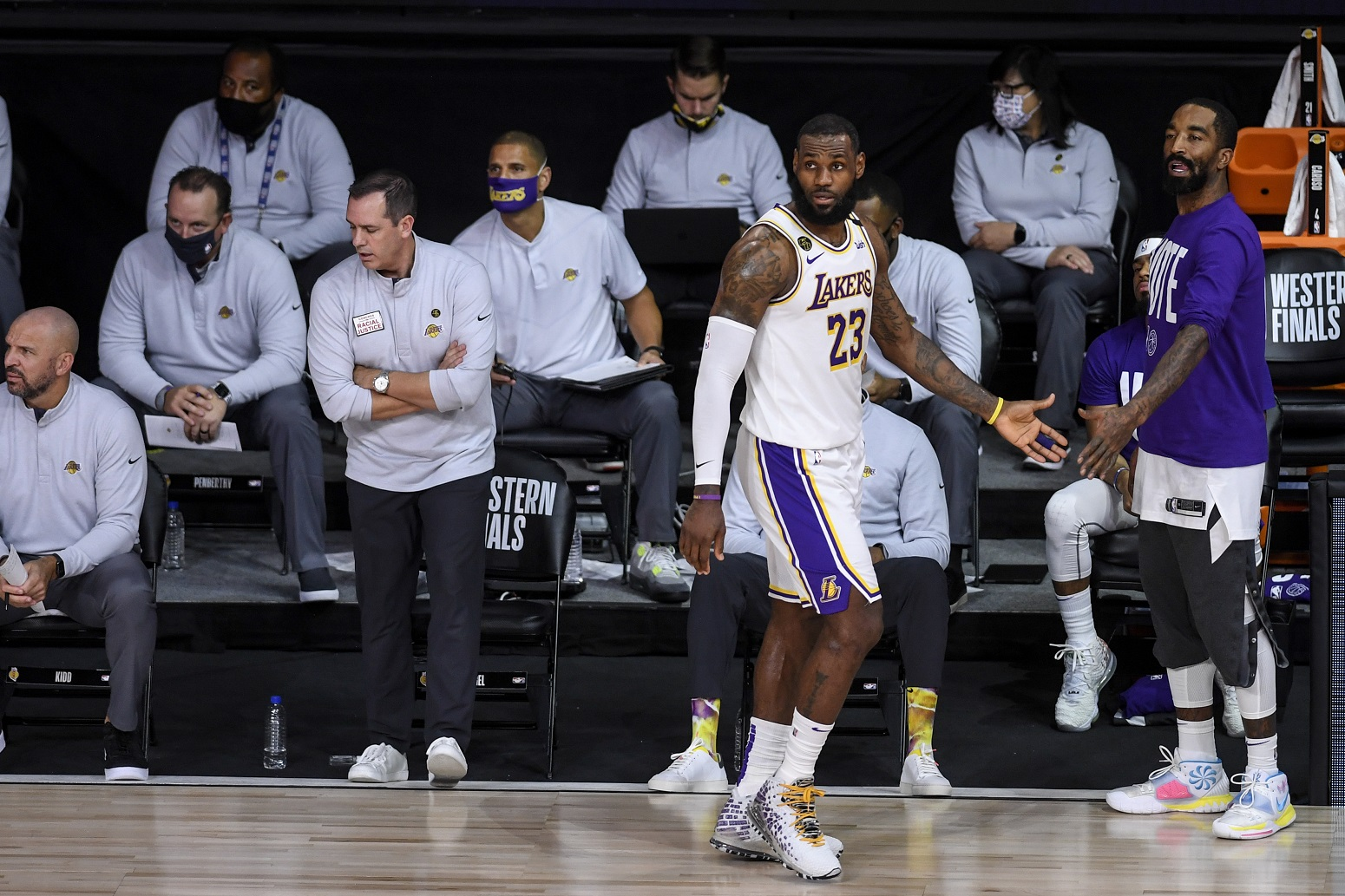 LeBron James Lakers historic feat