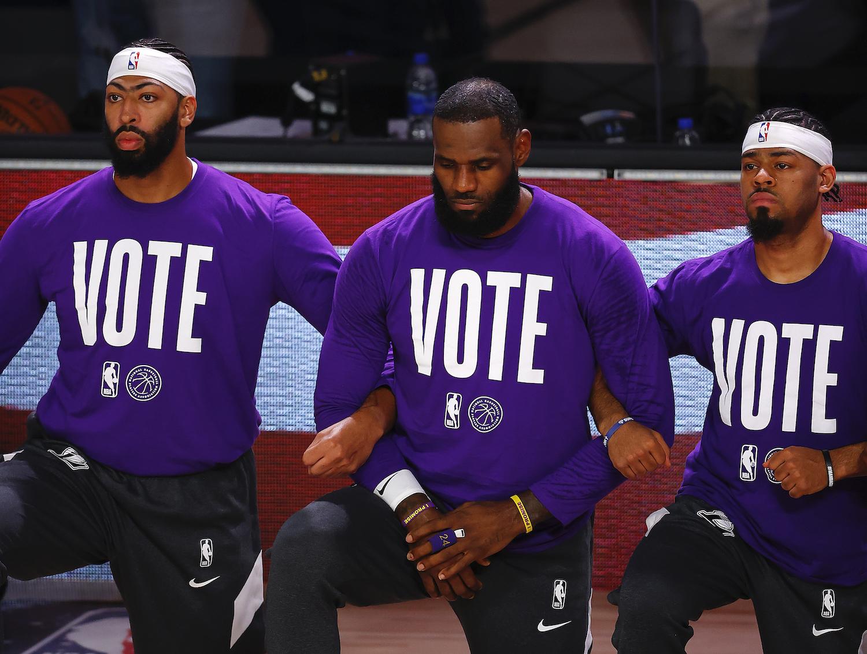 LeBron James vote