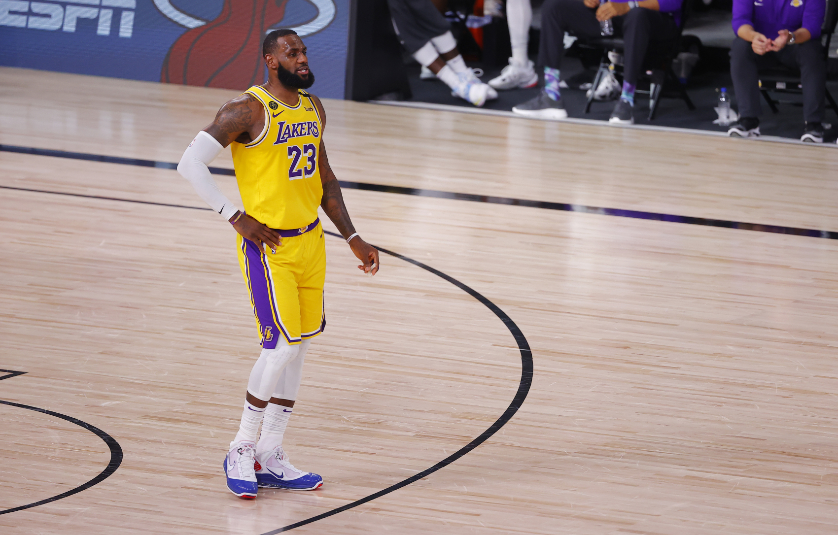 LeBron James has been dominant in the Western Conference with the LA Lakers. However, his run has a Denver Nuggets star fed up.