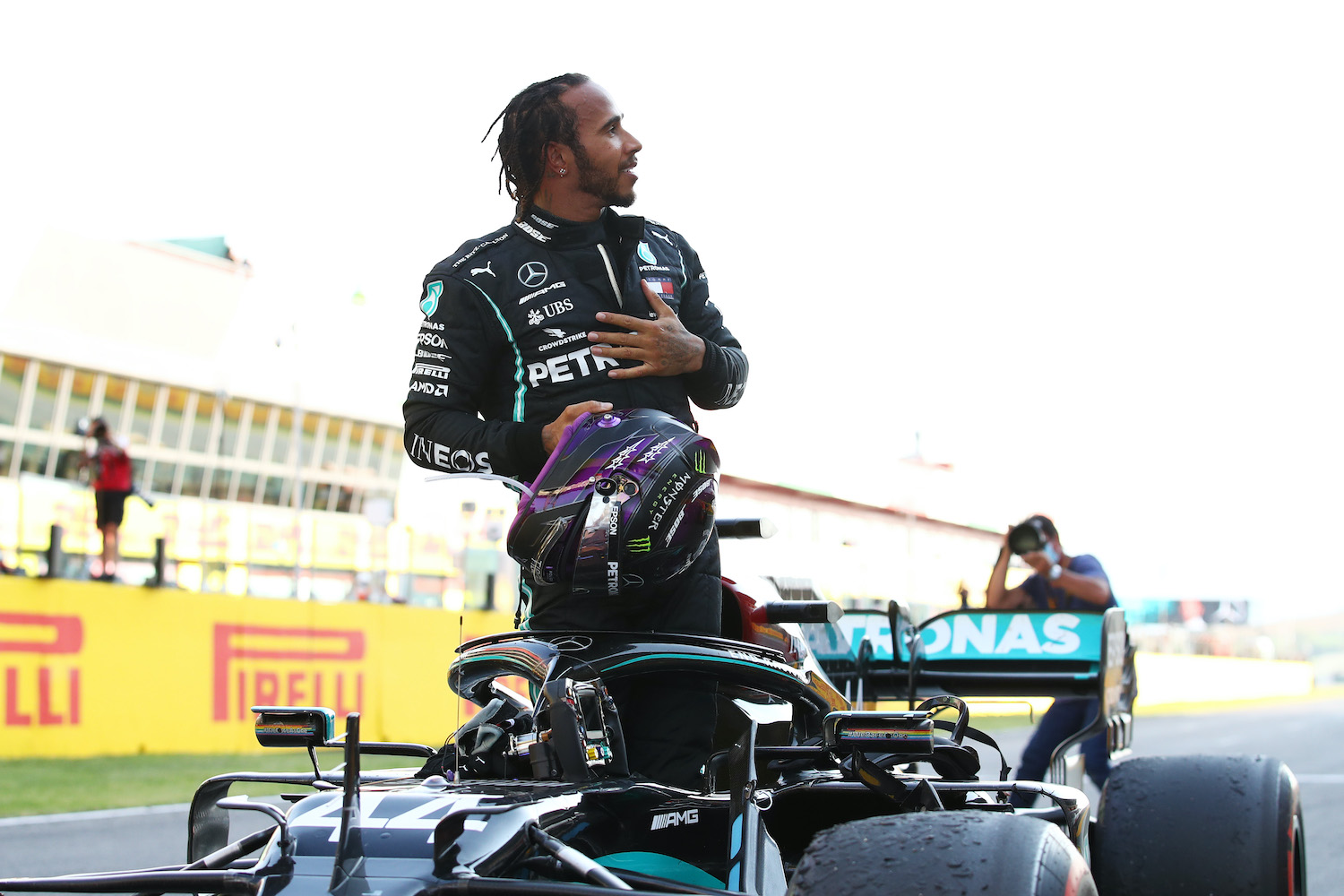 Lewis Hamilton has dominated Formula One racing since he joined the circuit, but he he feels the current batch of F1 tires isn't up to snuff.