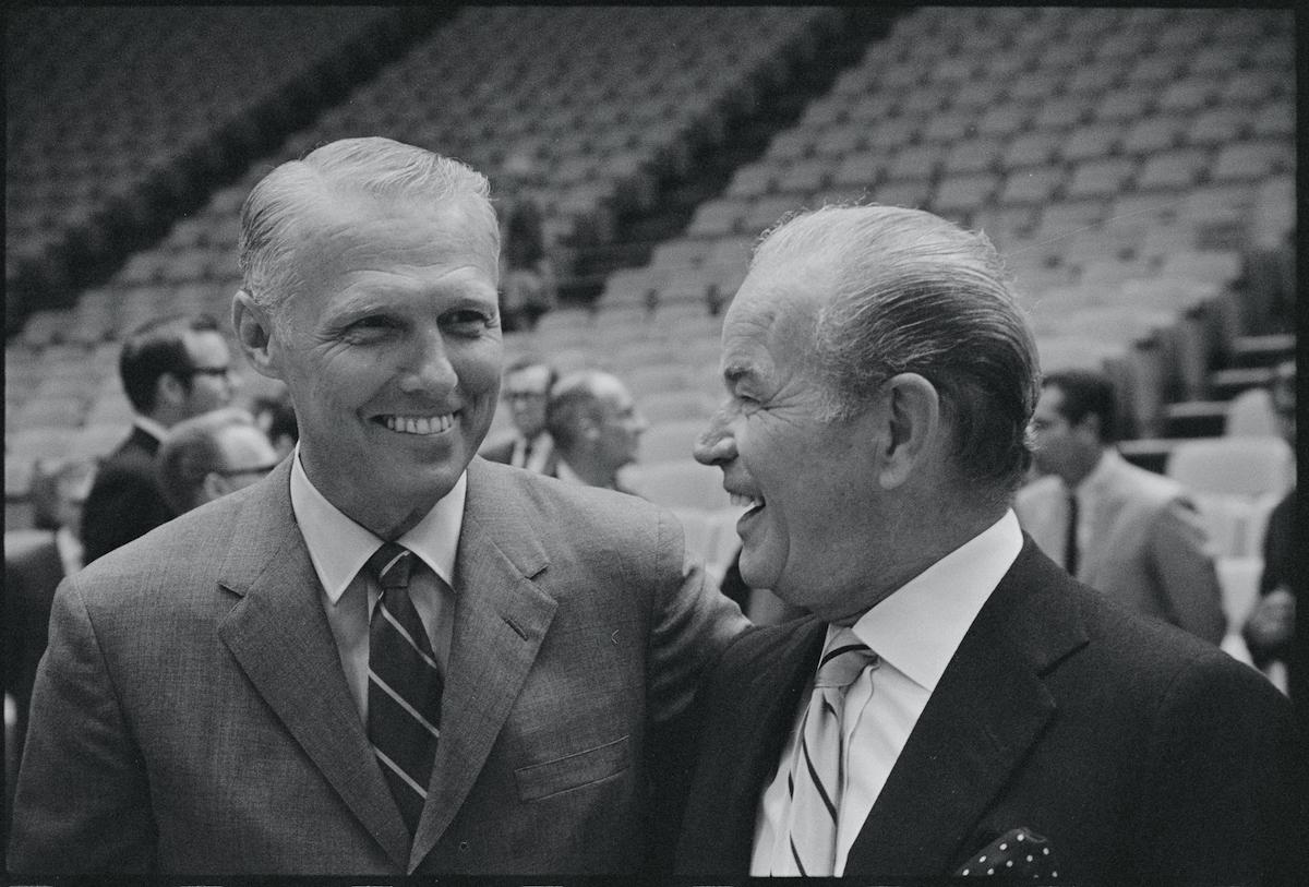 Jack Kent Cooke and Joe Mullaney