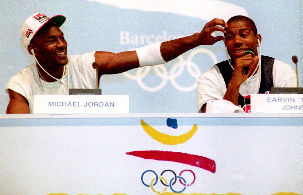 During their time on the Dream Team, Magic Johnson made the mistake of talking trash to Michael Jordan.