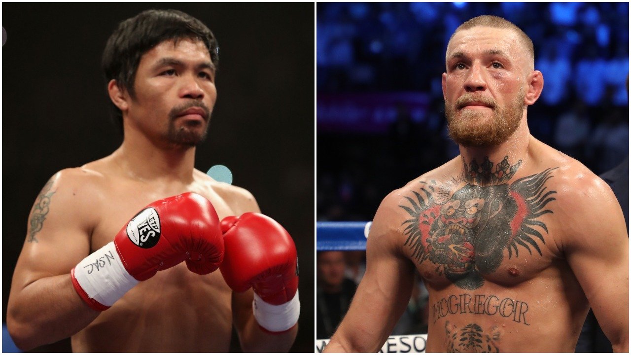 Let's Not Pretend That Conor McGregor Stands Any Chance Against Manny Pacquiao