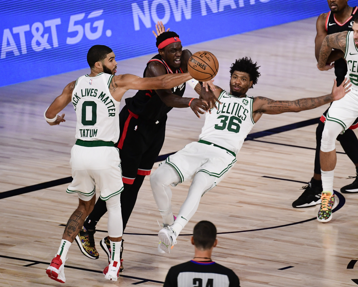 Marcus Smart is the heart and soul of the Boston Celtics.