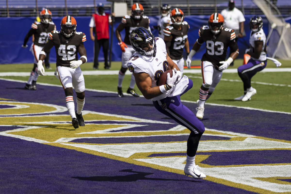 Baltimore Ravens star Mark Andrews is quickly becoming one of the NFL's top tight ends.