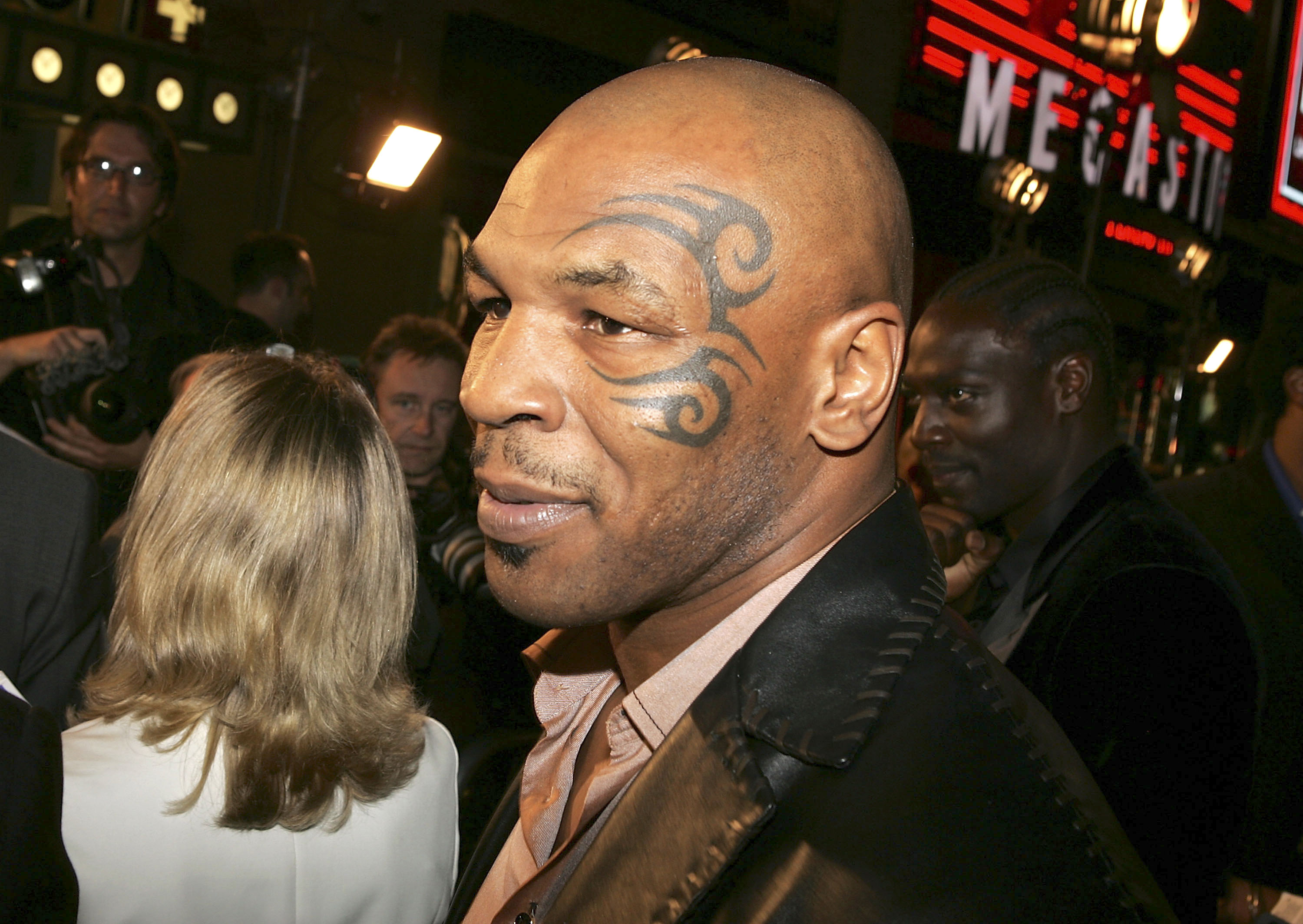 Mike Tyson said he 'had a ball' in prison.