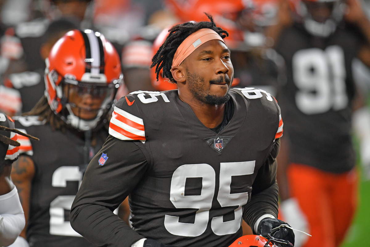 Cleveland Browns star pass-rusher Myles Garrett considered retiring after a lengthy suspension in 2019.